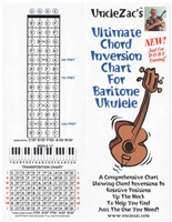 Uncle Zac's Ultimate Chord Inversion Chart for Baritone Ukulele
