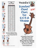 Uncle Zac's Standard Chord Chart for GCEA